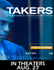 Michael Ealy profile in the Takers movie ad