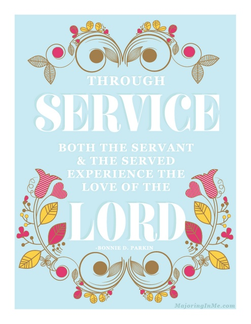 service to the Lord