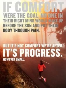Early Runs - Progress